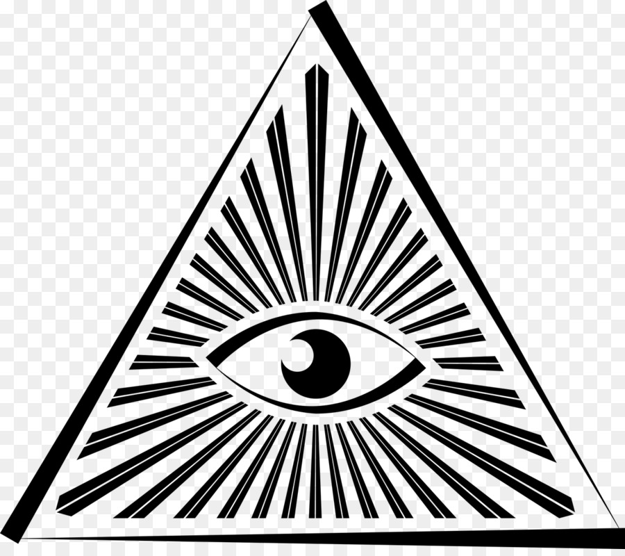Eye Of Providence Illuminati Symbol Pyramid Eye Png Download