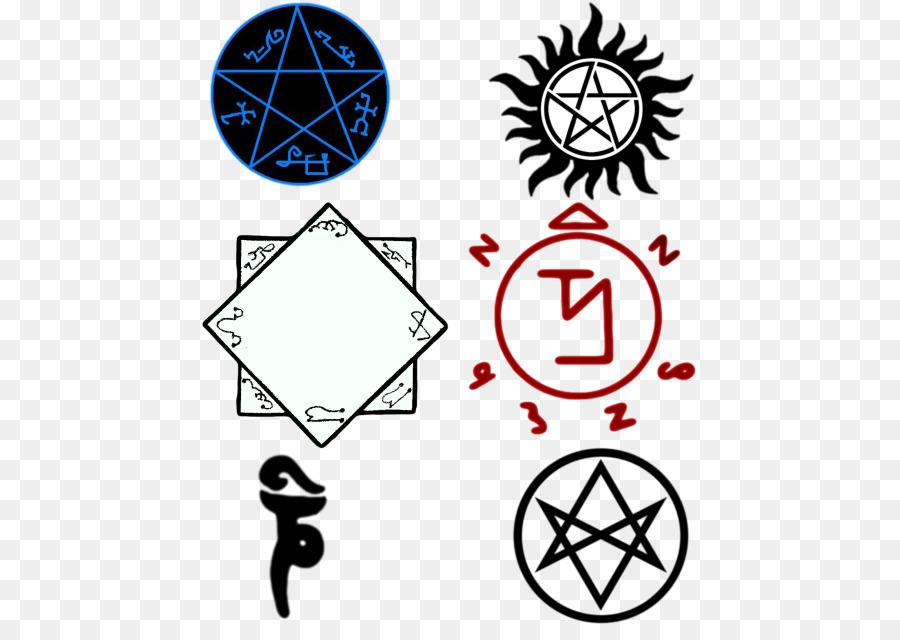 Dean Winchester Crowley Demonic Possession Symbol Demon Png