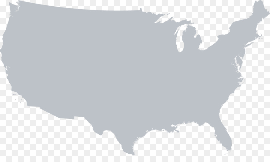 United States Vector Map - united states png download - 1000*583 ...