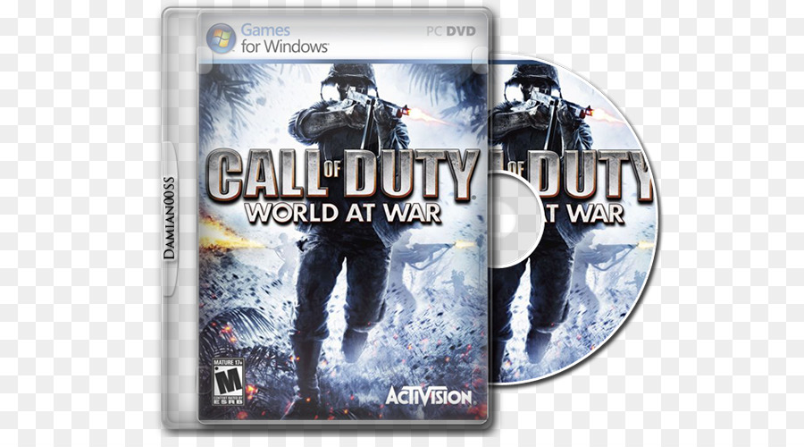 call of duty world at war png download - 650*489 - Free Transparent