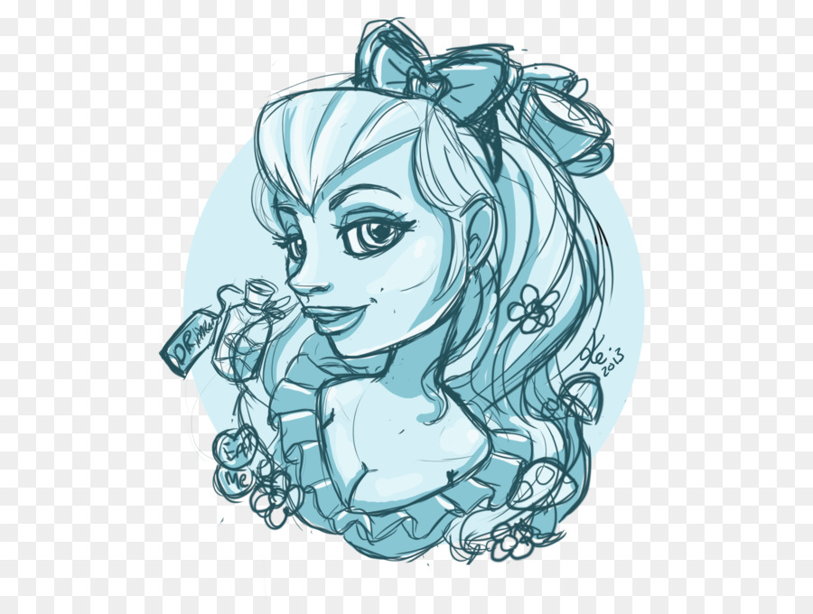 Mammal Line Art Sketch Mermaid Tattoo Png Download 600664