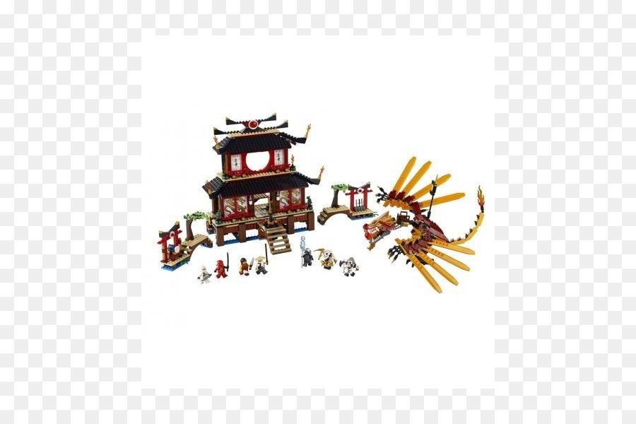 Ninjago 2507 Du Lord Sensei Lego Wu Feu Garmadon Temple WDE2YH9I