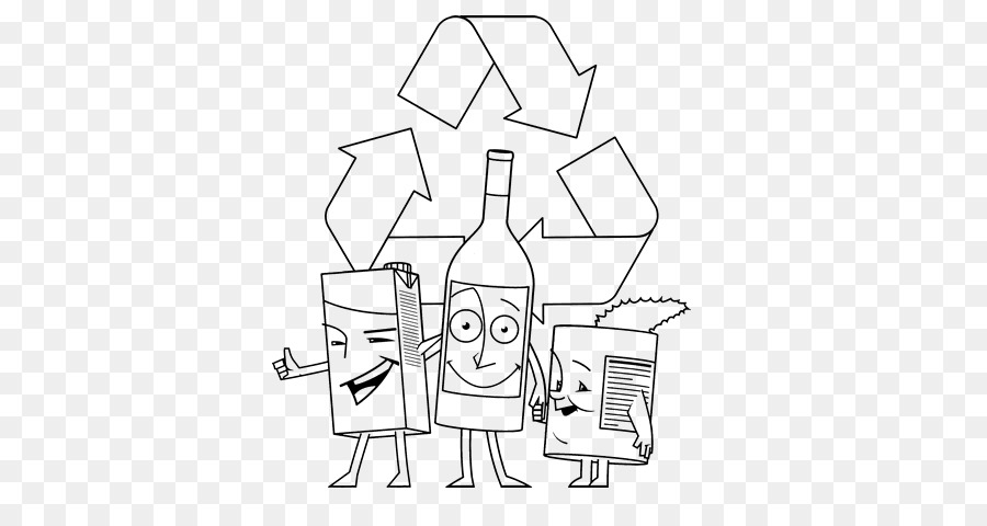 Paper Recycling Symbol Reuse