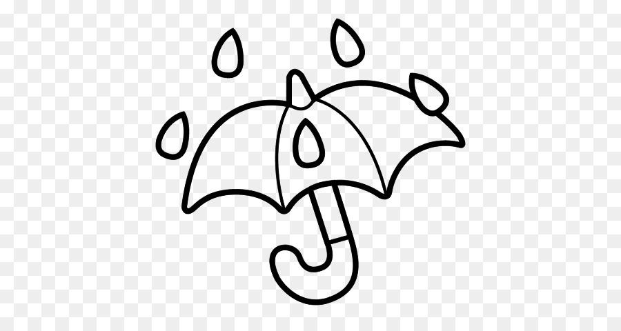 Dibujo Paraguas de la Lluvia para Colorear libro - paraguas 600*470 ...