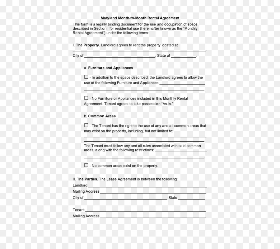 California Rental Agreement Lease Renting Contract Apartment Png