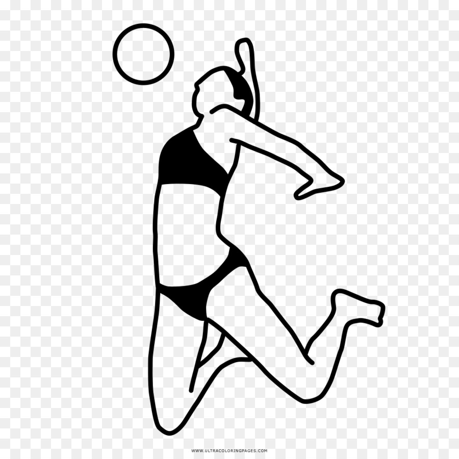 FIVB Volleyball World League Beach volleyball Drawing - volleyball ...