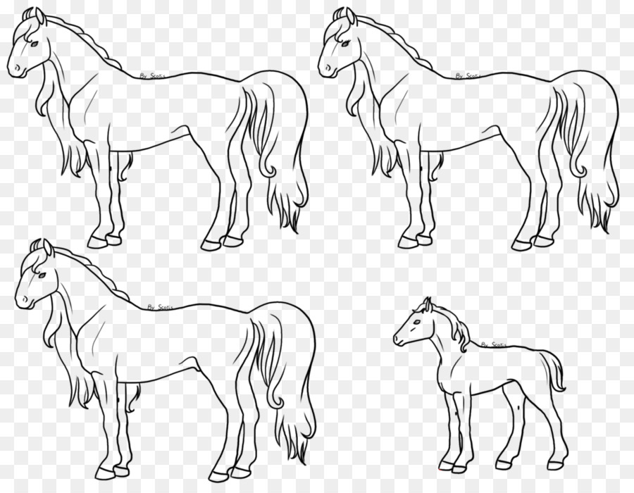 Caballo Pony Dibujo de libro para Colorear Pintar - caballo png ...