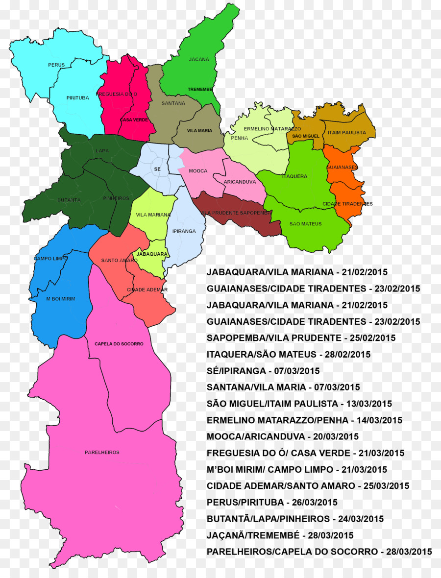 São Paulo Map Region Atlas City - racial png download - 1707*2237 ...