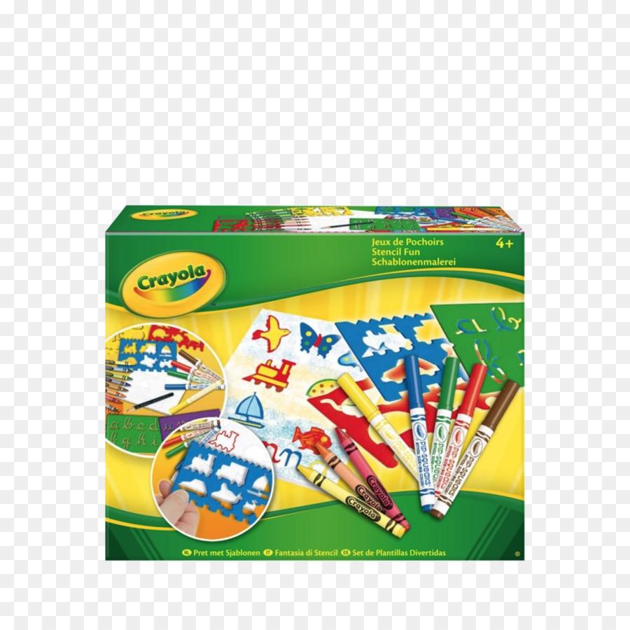 Colored pencil Crayola Stencil Drawing - pencil png download - 996 ...