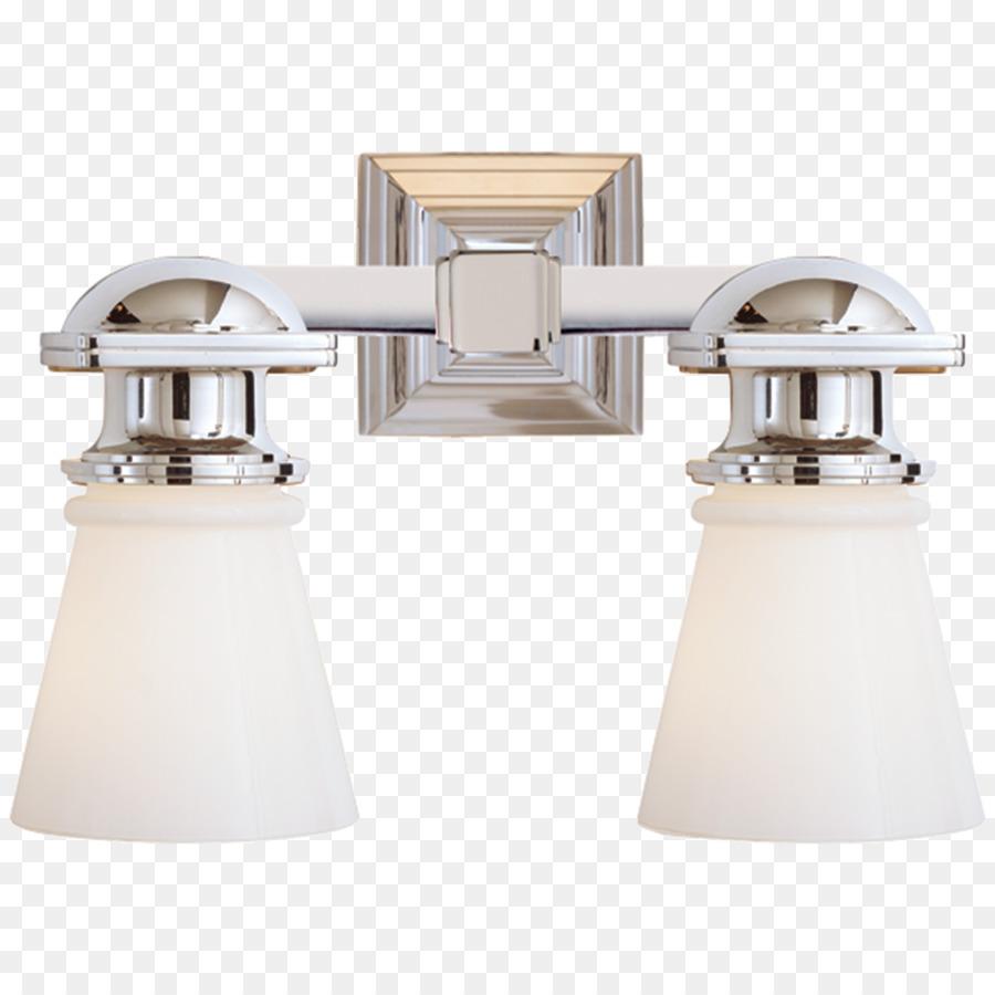 Light Sconce White Glass Visual Comfort   Light