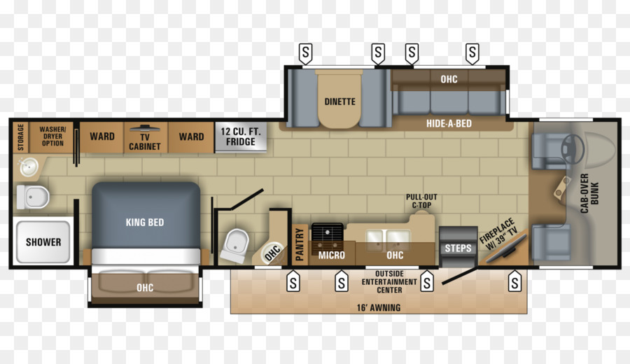 floor plan campervans jayco inc wiring diagram seneca png rh kisspng com