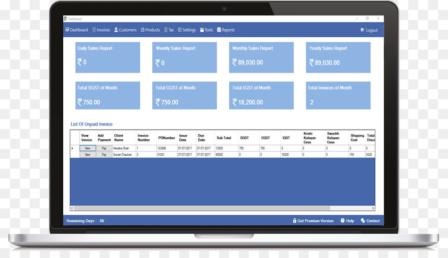 Computer Software Invoice Accounting Software BILLING SOFTWARE - Invoice accounting software