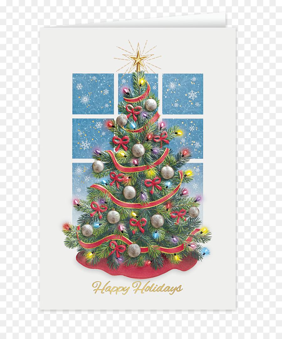 Christmas tree Christmas ornament Spruce Red Ribbon - christmas tree ...