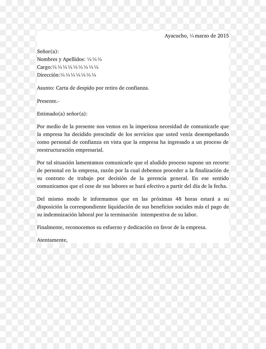 Carta de cubierta del Curriculum vitae carta de Negocios Plantilla ...