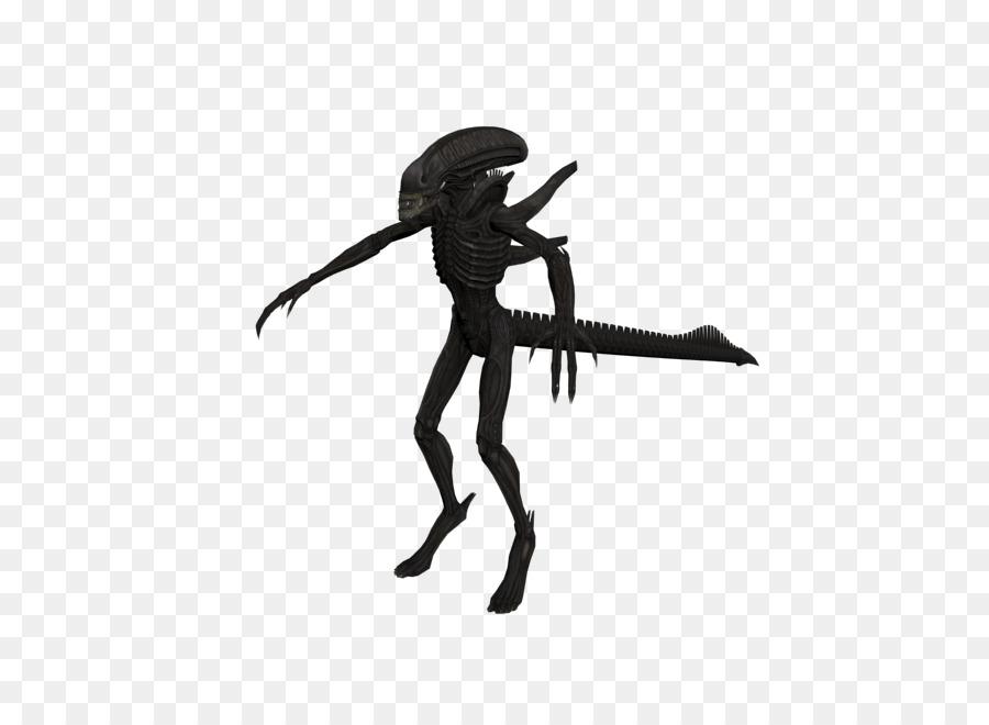 Aliens vs. Predator Aliens vs. Predator Sprite - alien Silhouette ...