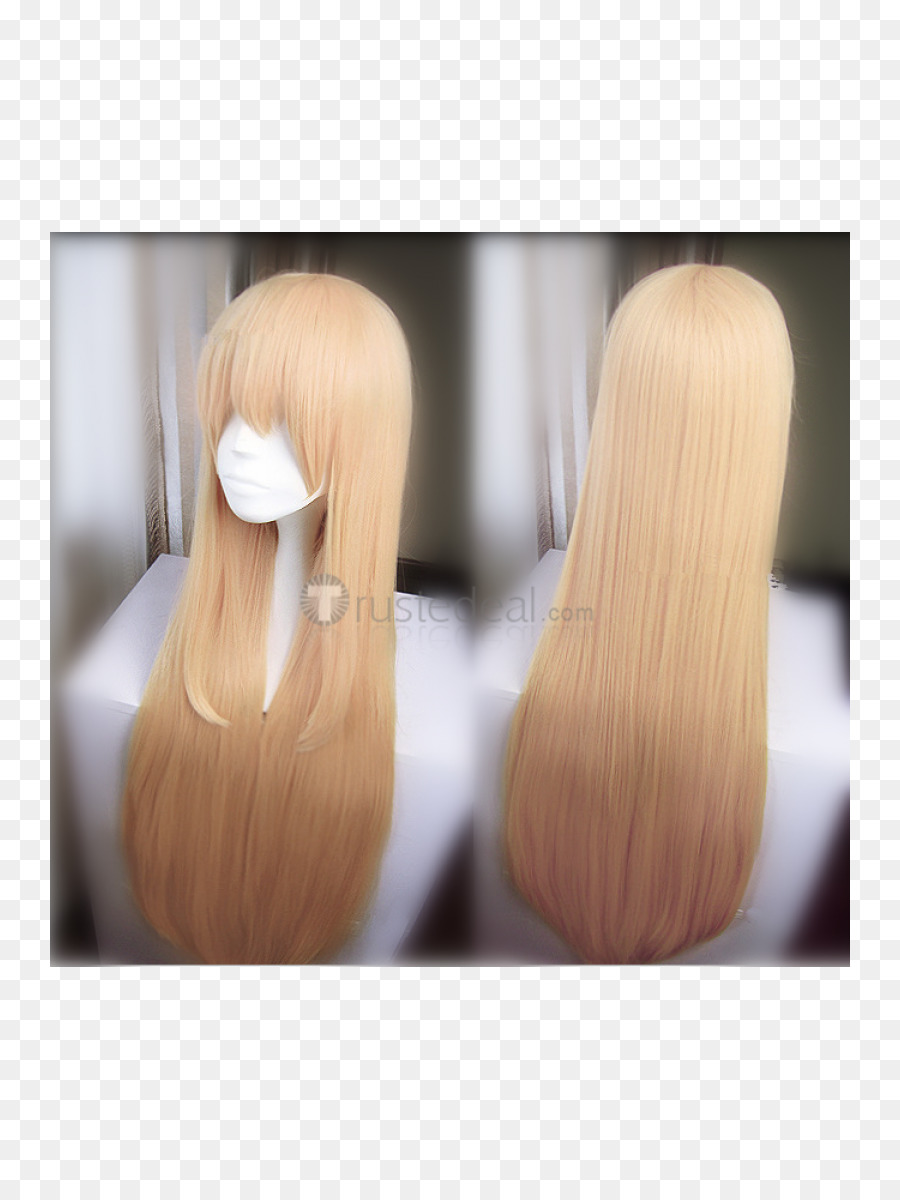 Wig Blond Long Hair Cosplay Cosplay Png Download 8001200 Free