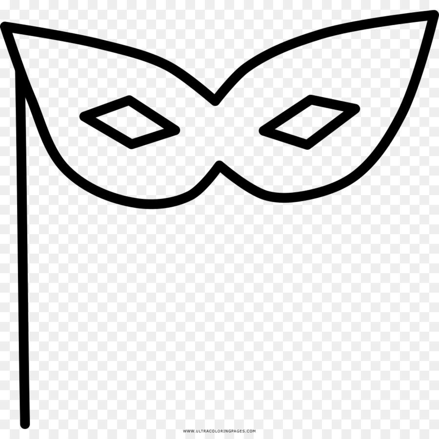 Máscara de Carnaval Dibujo para Colorear libro Clip art - unicornio ...