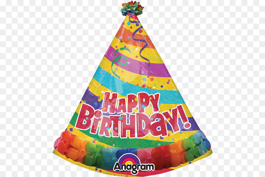 Happy Birthday Party Hat Toy Balloon