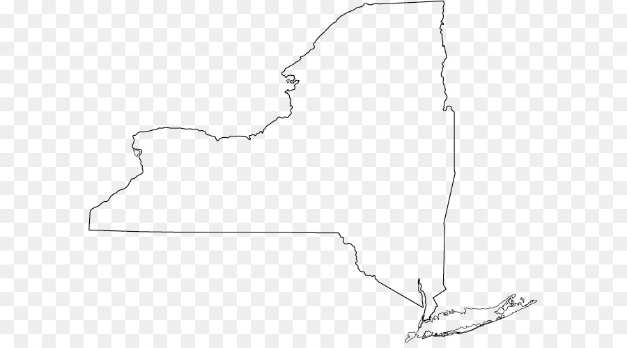 Blank New York Map new york map png download   645*493   Free Transparent York png