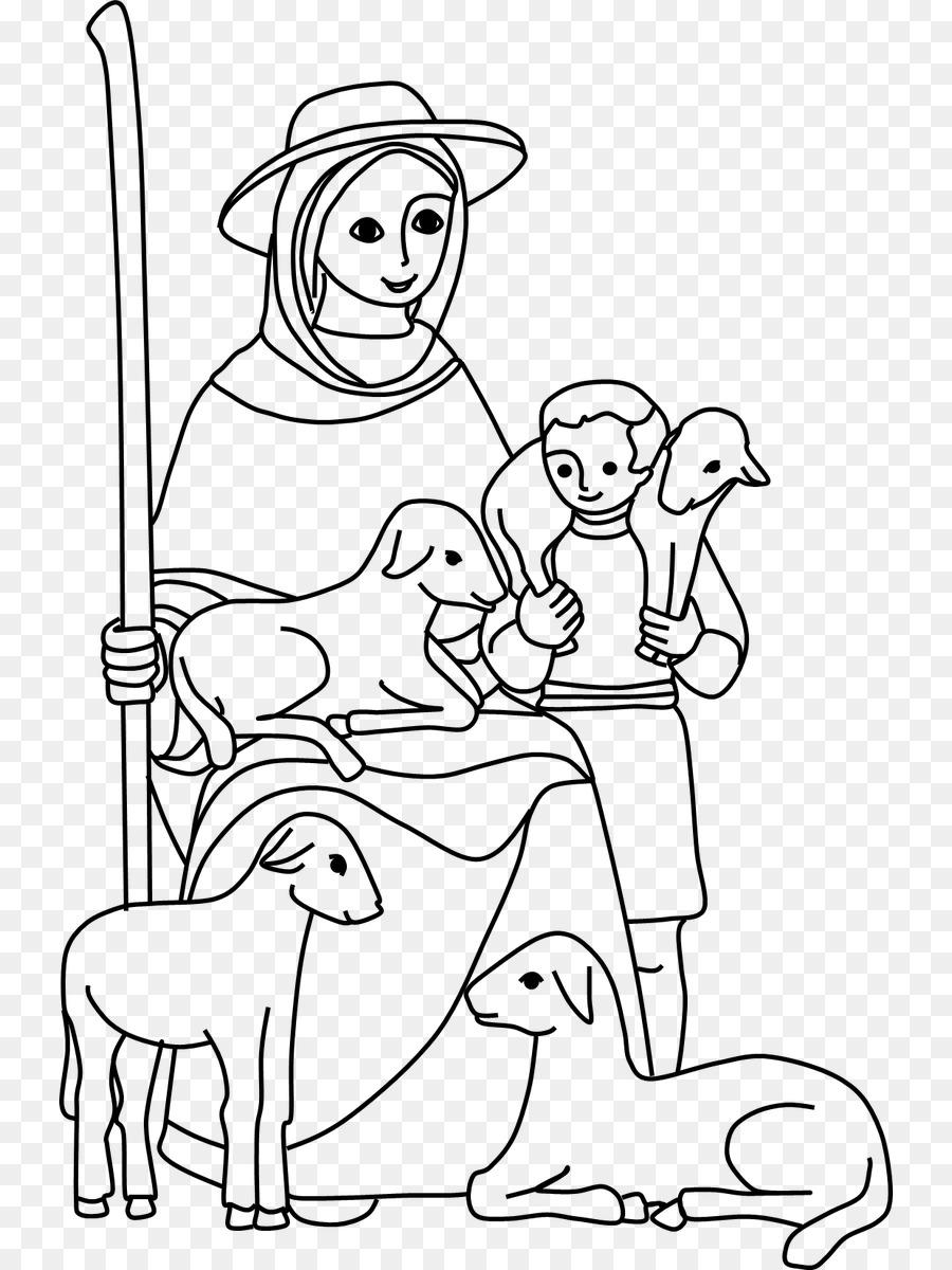 Mary Menggambar Buku Mewarnai Lukisan Maria Unduh Putih Hitam
