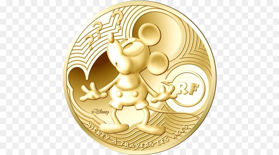 Mickey Mouse Gold Münze Minnie Maus Goofy Mickey Maus Png