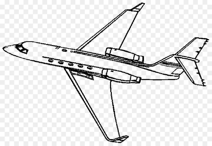 Uçak Boyama Kitabı Jet Uçak Business Jet Savaş Uçağı Uçak Png