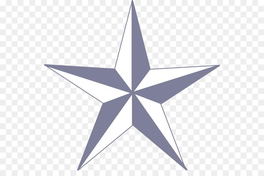 Nautical star Tattoo Clip art - star png download - 600*582 - Free ...