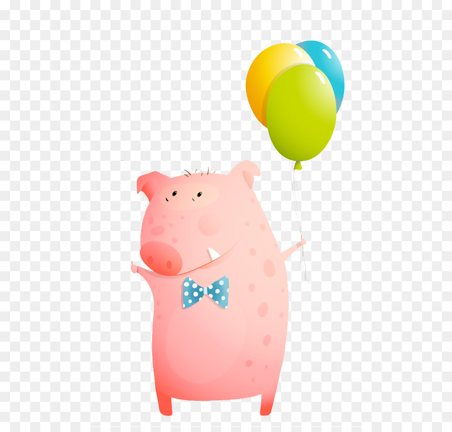 Pig Greeting & Note Cards Birthday - pig png download - 567*850 ...