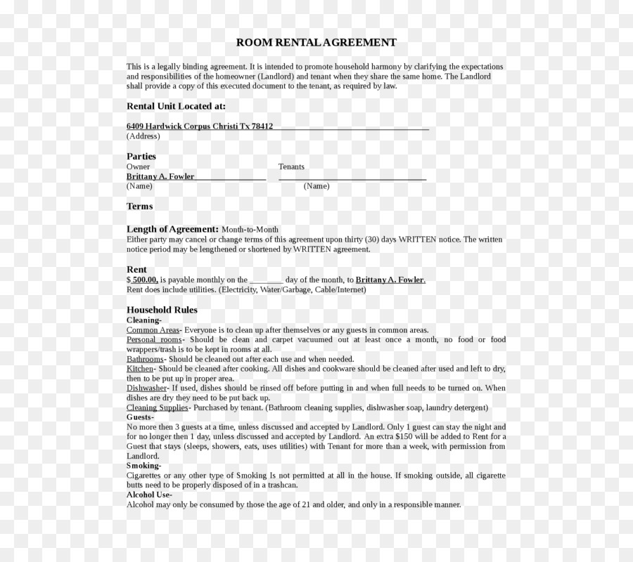 Rental Agreement House Lease Contract Renting House Png Download