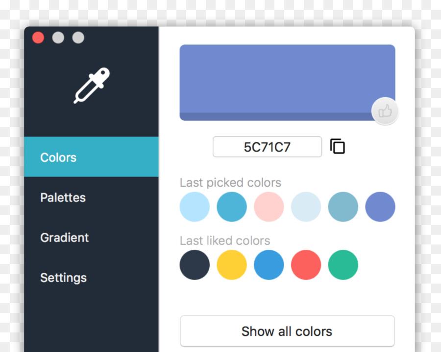 Color Scheme Picker | Color Scheme Color Picker Color Gradient Design Png Download
