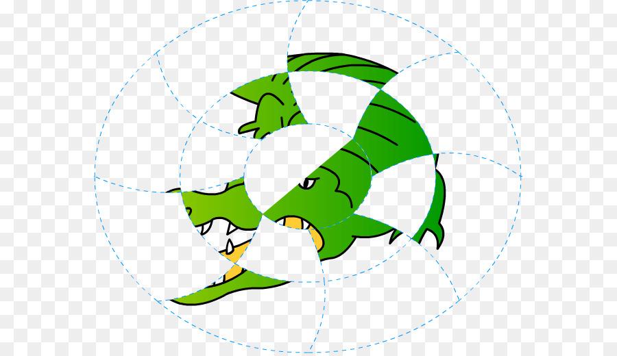 Hoja verde de dibujos animados Clip de la Línea de arte - cocodrilo ...