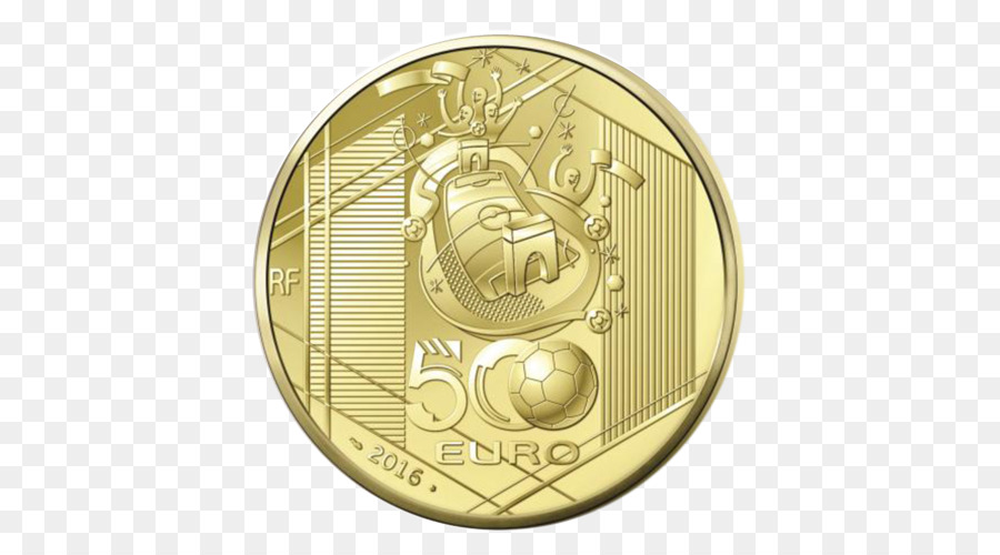 Münze Das Gold Der Uefa Europäischen Fußball Meisterschaft Medaille