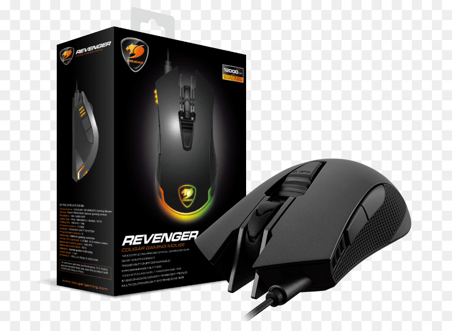 293c41aadbd Computer mouse COUGAR Revenger 12000 DPI High Performance RGB Pro ...