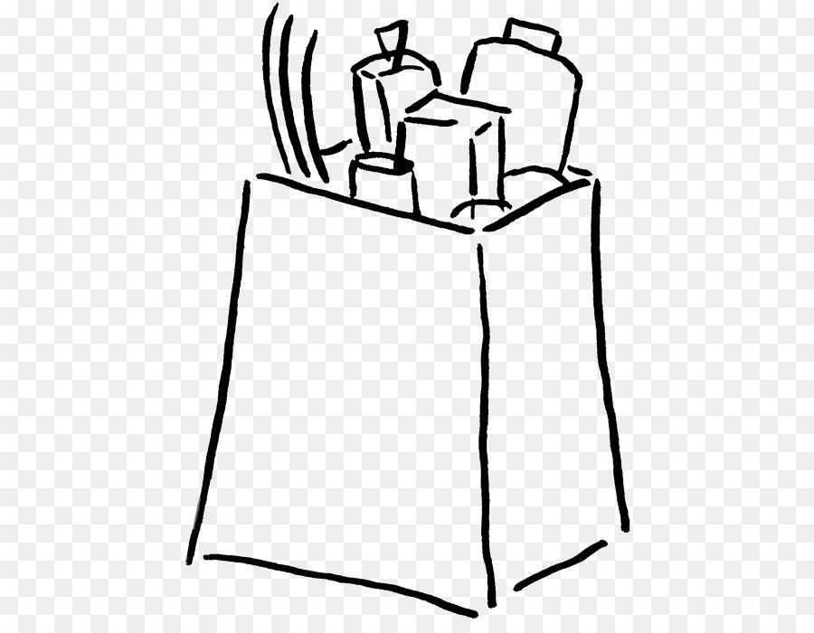 Shopping Bags Trolleys Grocery Store Clip Art