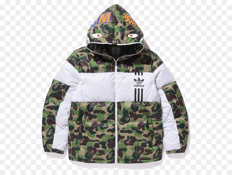 f7fe91648 Hoodie T-shirt A Bathing Ape Adidas Jacket - T-shirt png download ...