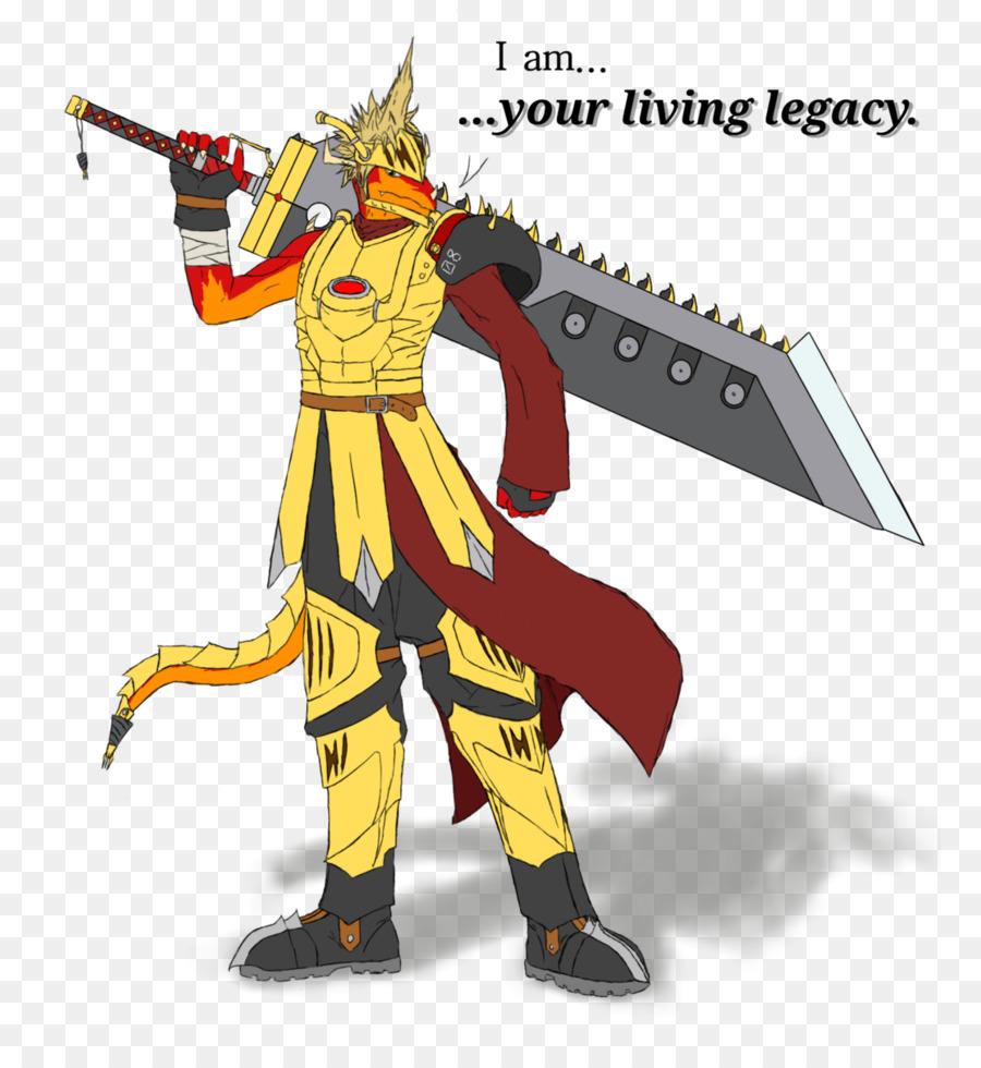 Final Fantasy X Cloud Strife Deviantart Artist Fight Cloud Png