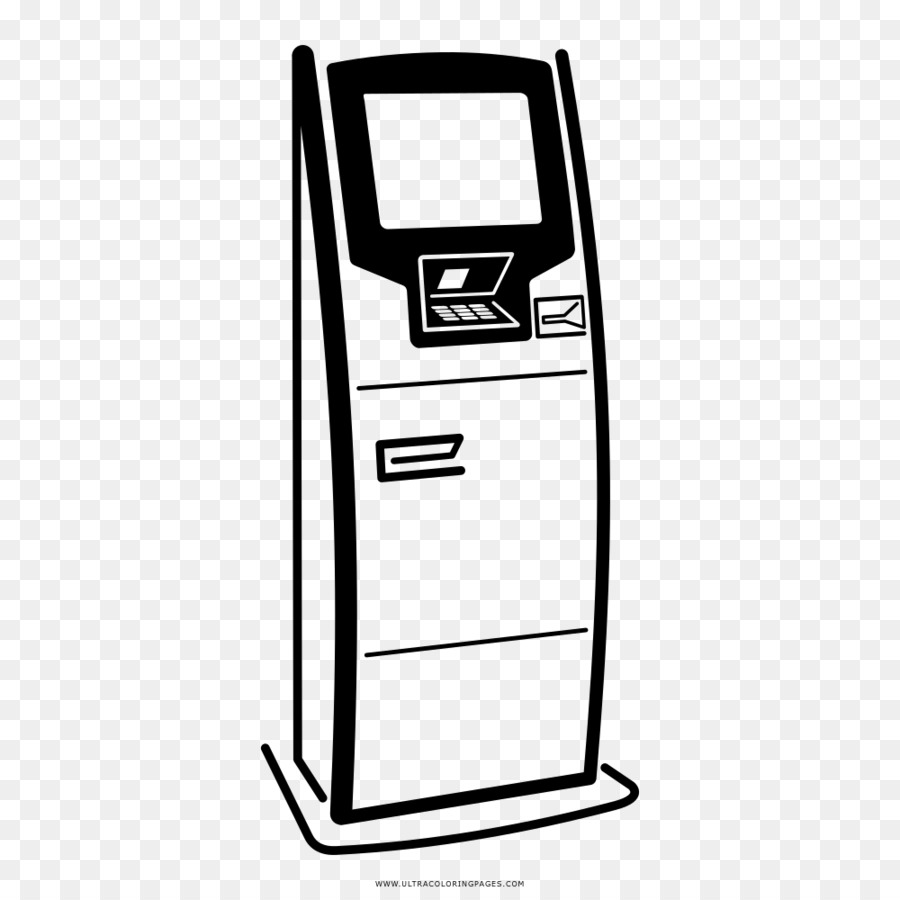 Drawing Coloring book Automated teller machine Interactive Kiosks ...