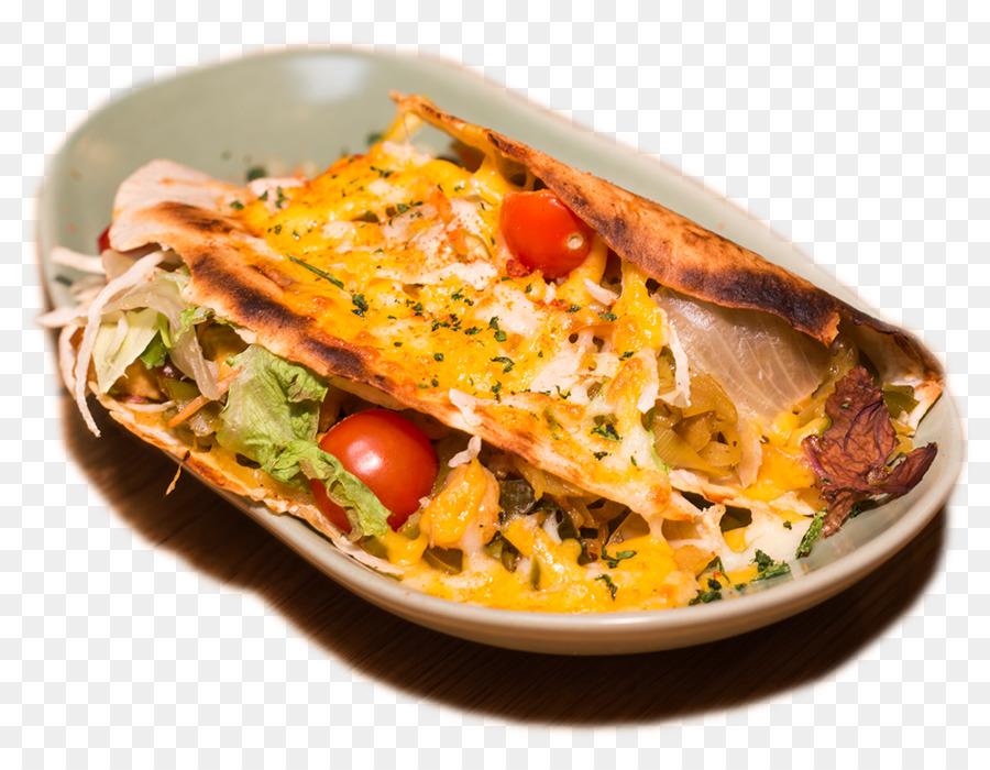 Quesadilla Frühstück, mediterrane Küche, Küche der ...