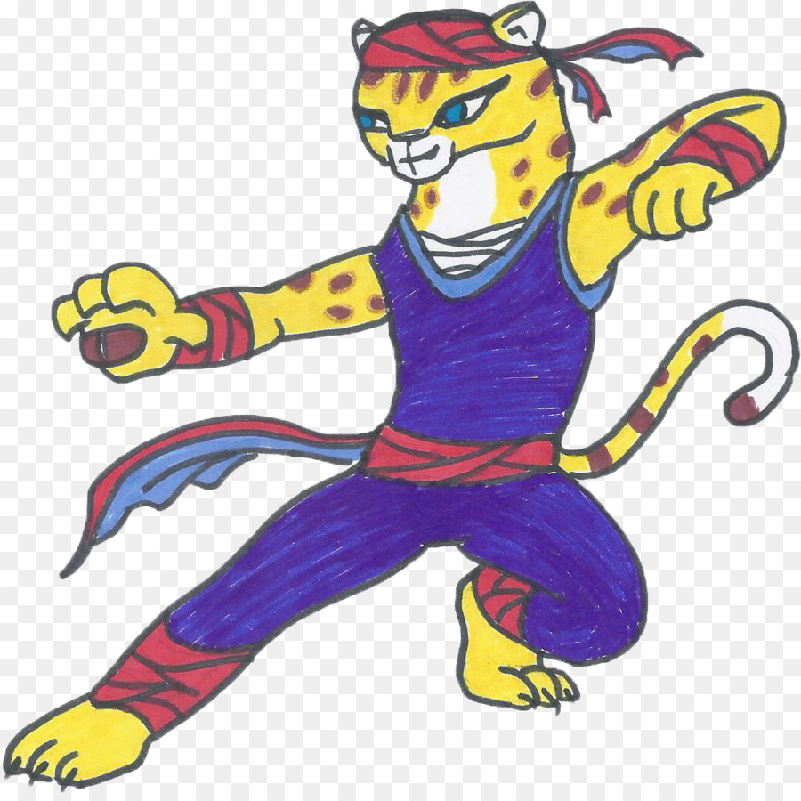 tigress kung fu panda cheetah clip art - cheetah wallpaper png