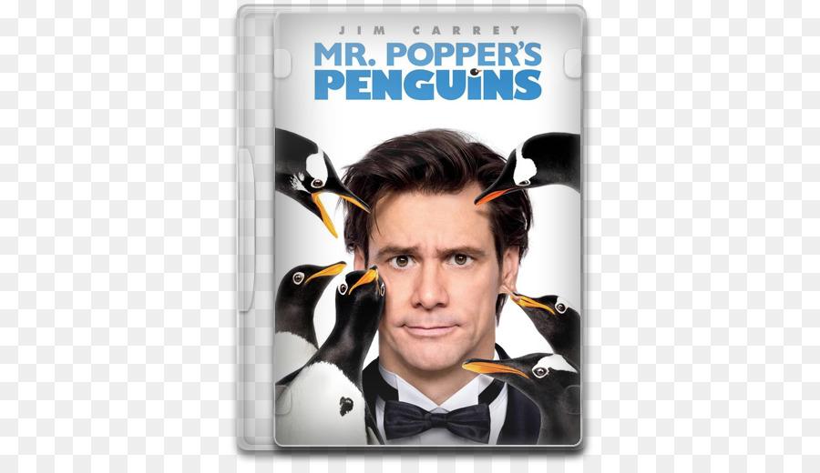 Jim Carrey Tom Popper los Pingüinos del Señor Popper Película de ...