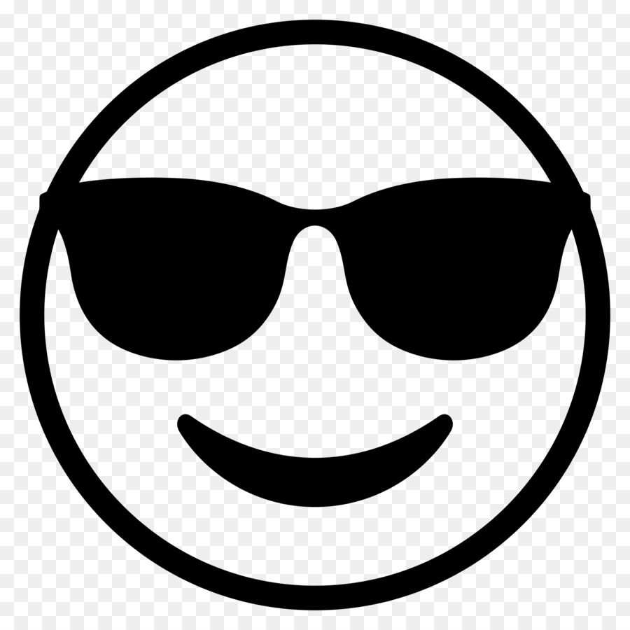 emoji black and white png download - 2000 2000
