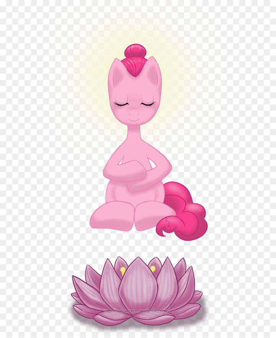 Cartoon Pink M Figurine Character Zero Tasking Day Png Download