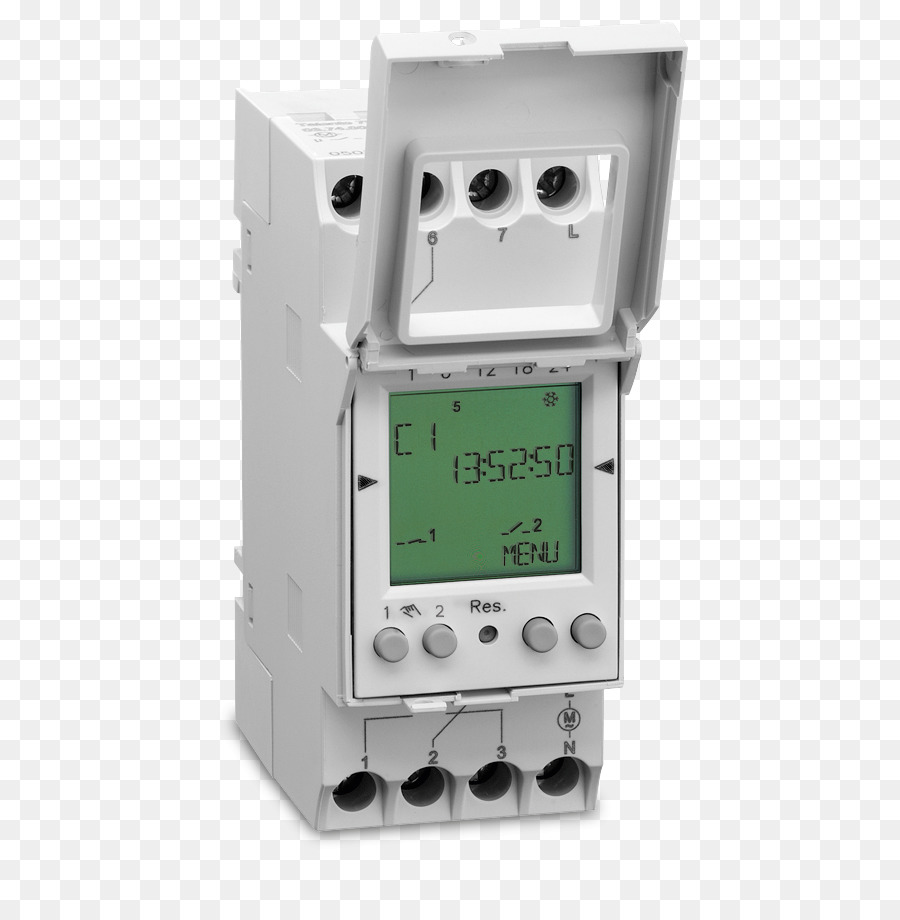 Timer Time Switch Clock Digital Data Electrical Switches Relay No Nc Contacts