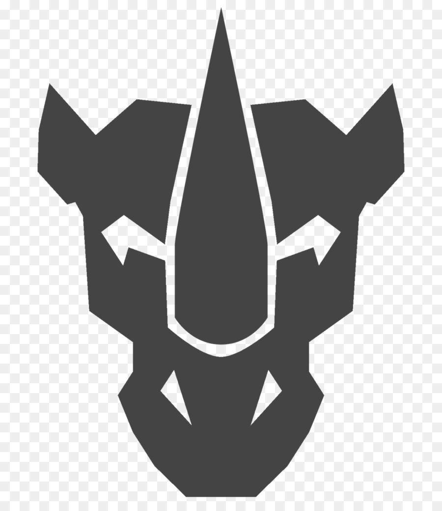 predacons logo transformers simbol transformer unduh hitam dan