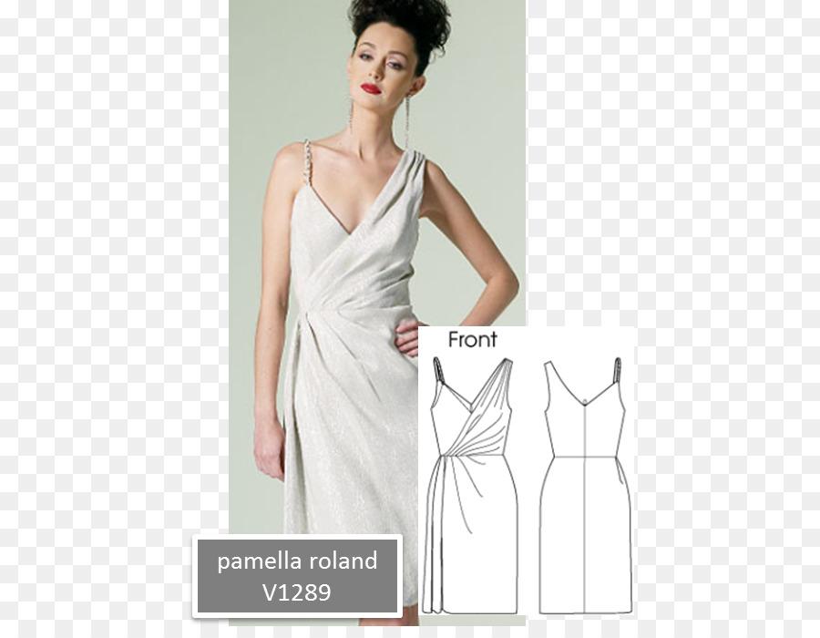 Vestido de novia vestido de Fiesta de Patrón - patrones de costura ...