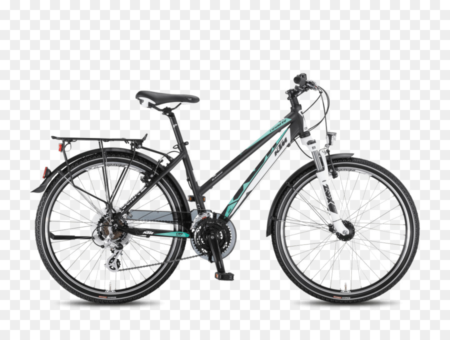 KTM Bicycle Mountain bike Motorcycle Hardtail - Bicycle png download ...