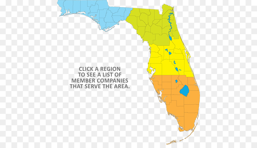 Florida Topographic map Topography Road map - map png download - 500 ...