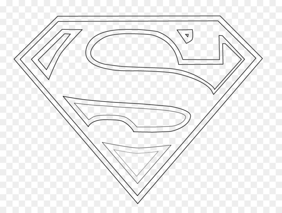 Logo de Superman Batman Superhéroe libro para Colorear - superman ...