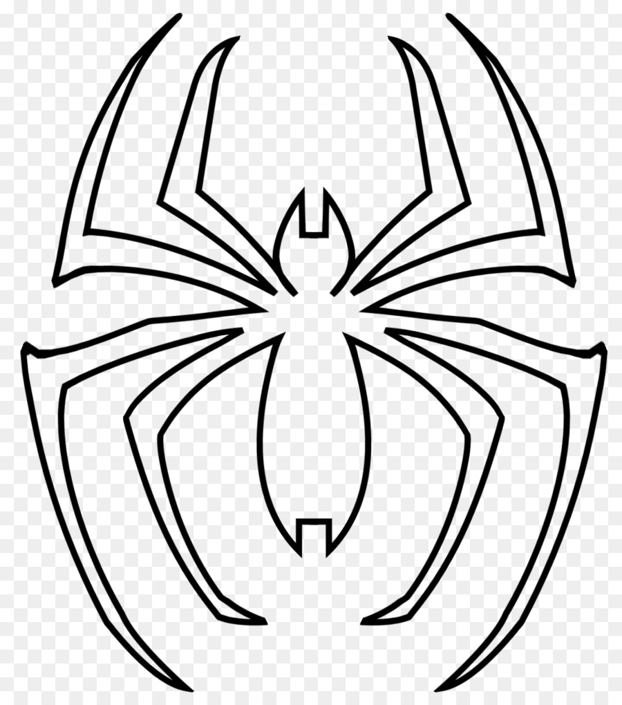 Spider-Man Coloring book Venom Drawing Superhero - spider-man png ...