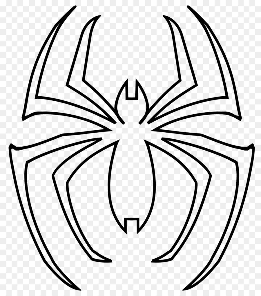 Spider-Man Coloring book Venom Drawing Superhero - spider-man png ...